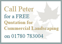 For Free Commercial Landscaping Quote call 01780 783004